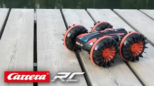 Carrera <b>RC</b> All Terrain <b>Stunt Car</b> - YouTube