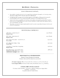 sample of cook resume objective job and resume template gallery of 8 sample of cook resume objective