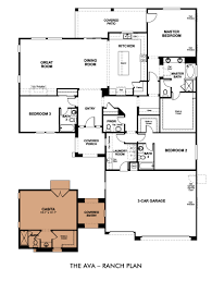 Finding a home that works for the multi generational family    Ava Floor Plan