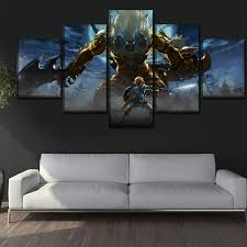 Canvas Art Print Wall <b>Modular Picture 5 Pieces</b> Game The Legend ...