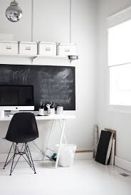 view in gallery beautiful home office chalkboard