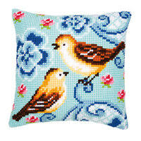 «<b>Набор для вышивания Vervaco</b> Подушка Birds in love ...