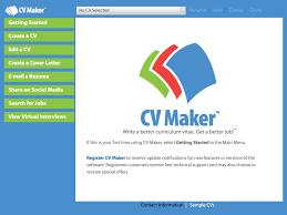 cv maker platinum by individual software inc cv maker platinum