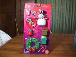 My Life as Holiday <b>Decorations</b> Play Set for <b>18 Inch</b> Dolls Christmas ...