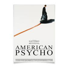 Плакат A2(42x59) Американский психопат / American Psycho ...