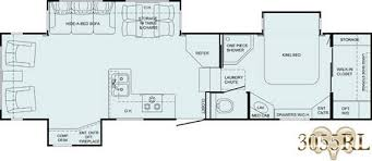 Image result for 2007 Bighorn 3055RL floor plan drawing