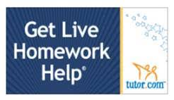 Tutor com     receive free one on one help everyday from   pm to    pm  Access the Skills Center Resource Library at any time which includes homework      Glen Cove Public Library