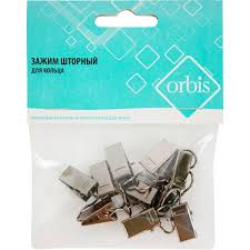 Крючок-<b>зажим для</b> штор 3 см цвет титан в Казани – купить по ...