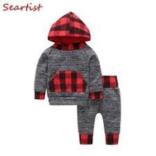 <b>Seartist Baby Boys</b> Girls Christmas Clothing Set <b>Kids</b> 2pcs <b>Hoodies</b>+ ...