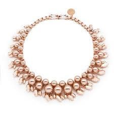 <b>Ellen Conde</b> Colette Rose Gold Necklace (37.065 RUB) liked on ...