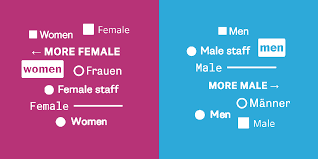 An alternative to pink & blue: <b>Colors</b> for gender data | Chartable