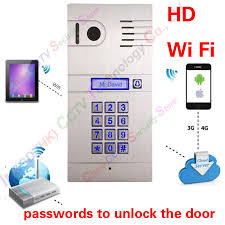 Hot New <b>3G 4G</b>/ <b>WiFi IP</b> intercom system two way intercom and ...