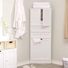 Small Wood Cabinet With Doors Bathroom 2017 Furniture Wood Tall Corner Bathroom Storage