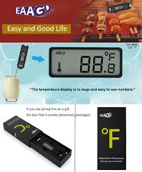 EAAGD Instant Read Digital Meat Thermometer - High ... - Amazon.com