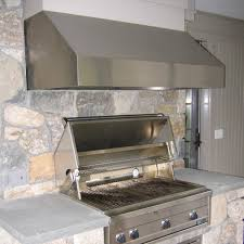 series vent hood: vent a hood professional series outdoor range hood installed outdoors