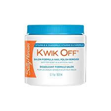 <b>Sally Hansen</b> Kwik Off Nail Color Remover, <b>Salon Formula</b> - 5.1 oz