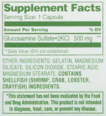 Hy-Vee Healthmarket All Natural <b>Glucosamine Relief 500Mg</b> ...