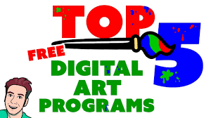 Top <b>5</b> Best FREE <b>Digital Painting</b> Software - YouTube