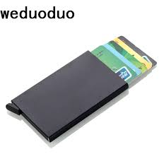 <b>Weduoduo New</b> Credit Card Holder Automatically Business Card ...