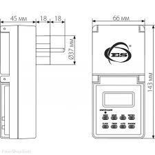 розетка elektrostandard tmh e 6 ip44 white розетка