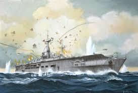 「German aircraft carrier Graf Zeppelin sunken place」の画像検索結果