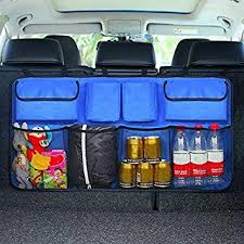 SLB Works 1X(<b>Car Trunk Organizer Adjustable</b> Backseat Storage ...