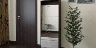 Узкий <b>шкаф для обуви</b> в прихожую: фото, советы по выбору