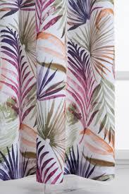 <b>Портьера VERRAN Palm</b> 140х260 см, фиолетовый — купить в ...