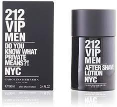 <b>Carolina Herrera 212</b> Vip Men After Shave Lotion <b>Splash</b> For Him ...
