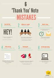 thank you note mistakes infographic from careerbliss how 6 thank you note mistakes infographic from careerbliss how long to