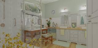 shower drain bathroom tropical awning bath