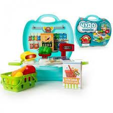 <b>Чудо</b>-<b>чемоданчик</b> Овощной магазин 23 предмета <b>ABtoys</b> ...