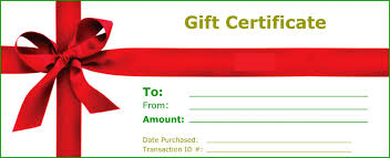 new gift certificate templates certificate templates gift certificate template elegant