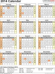 2014 calendar 13 printable word calendar templates template 13 2014 calendar for word 1 page portrait orientation