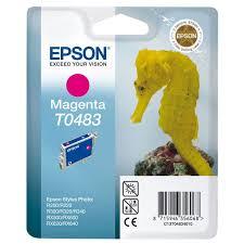 <b>Картридж Epson</b> T0483, пурпурный, для струйного принтера ...