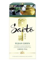 <b>Чай зеленый</b> в сашетах Fujian <b>Green</b> 25 пакетиков <b>Saito</b> ...