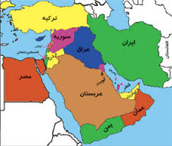Image result for نقشه ایران در خاورمیانه جدید
