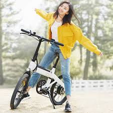 <b>onebot S6 16 Inch</b> Folding Electric Bicycle Power Assist Moped ...