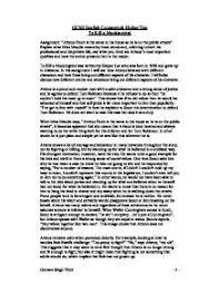 racism in to kill a mockingbird essaycollege essays  college application essays   atticus finch essay essay  racism   to kill