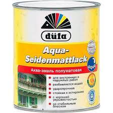<b>Эмаль</b> полуматовая <b>Dufa</b> Aqua-Seidenmattlack - Магазин Краски ...