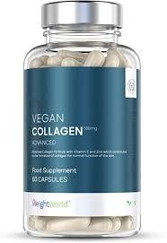 <b>Vegan</b> Collagen <b>Advanced</b> Capsules with Hyaluronic Acid - 500mg ...