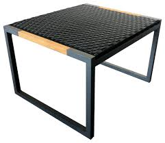 patio stool: harbour outdoor coast woven foot stool modern patio furniture and outdoor