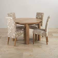 extendable dining table set: round oak dining table set laba interior design