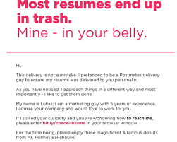 breakupus sweet housekeeping resume example ziptogreencom breakupus exquisite this guy turned his resume into a box of donuts so employers would