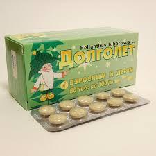 Купить <b>Долголет</b> тб №<b>80</b> Диод в аптеках Доктор Столетов по ...