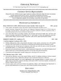 customer service representative resume customer services representative resume