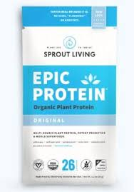 Sprout Living - <b>Epic Protein</b> - Original <b>Plant</b> Protein, 35g - Goodness ...