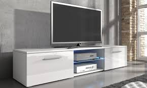 Samuel <b>TV Cabinet with LED</b> Lighting