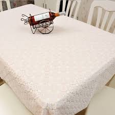 rectangular dining table cover cloth knitted vintage: vintage dining table cover rectangle cloth knitted knitting hollow out banquet kitchen wedding party pcs