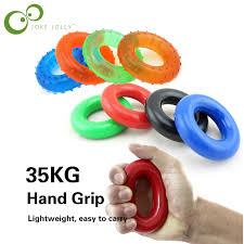 <b>1 piece Hand</b> Grip Sport Exerciser Muscle Power Training <b>Rubber</b> ...